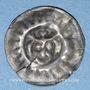 Coins Mecklembourg. Monnayage anonyme (vers 1325-75). Stierkopfbrakteat bractéate à la tête de taureau