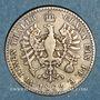 Coins Prusse. Guillaume I (1861-1888). 1/6 taler 1862A