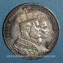 Coins Prusse. Guillaume I (1861-1888). Taler de couronnement 1861A, Berlin.