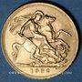 Coins Afrique du Sud. Georges V (1910-1936). Souverain 1932SA petite tête Prétoria. (PTL 917/1000. 7,99 g)