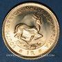Coins Afrique du Sud. République. 1 rand 1980. (PTL 917‰. 3,994 g)
