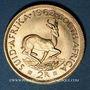 Coins Afrique du Sud. République. 2 rand 1962. (PTL 917/1000. 7,98 g)