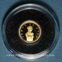 Coins Andorre. Principauté. 1 diner 2008. Vénus de Milo. (PTL 999‰. 0,5 g)