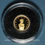 Coins Andorre. Principauté. 1 diner 2008. Vénus de Milo. (PTL 999/1000. 0,5 g)