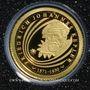 Coins Andorre. Principauté. 1 diner 2009 Jean Kepler. (PTL 999‰. 0,5 g)