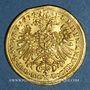 Coins Augsbourg. Ville. Ducat 1635, au nom de Ferdinand II