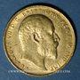 Coins Australie. Edouard VII (1901-1910). Souverain 1902P. Perth. (PTL 917/1000. 7,99 g)