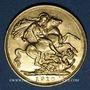 Coins Australie. Edouard VII (1901-1910). Souverain 1910M. Melbourne. (PTL 917/1000. 7,99 g)