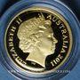 Coins Australie. Elisabeth II (1952- ). 10 dollars 2011. Ram's head dollar. (PTL 999,9‰. 3,10 g)