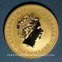 Coins Australie. Elisabeth II (1952- ). 100 dollars 2011P. Bullion kangaroo. (PTL 999‰. 31,10 g)