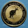 Coins Australie. Elisabeth II (1952- ). 15 dollars 1993. Nailtailed wallaby. (PTL 999‰. 3,11 g)