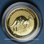 Coins Australie. Elisabeth II (1952- ). 15 dollars 2017. Kangourou. (PTL 999‰. 3,11 g)