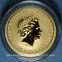 Coins Australie. Elisabeth II (1952- ). 25 dollars 2017. Kangourou. 999 /1000. 7,78 gr (1/4 once)