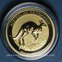 Coins Australie. Elisabeth II (1952- ). 25 dollars 2017. Kangourou. (PTL 999‰. 7,78 g (1/4 once))