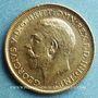 Coins Australie. Georges V (1910-1936). 1/2 souverain 1915 S. Sydney. (PTL 917‰. 3,99 g)