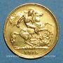Coins Australie. Georges V (1910-1936). 1/2 souverain 1915S. Sydney. 917 /1000. 3,99 gr