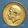 Coins Australie. Georges V (1910-1936). 1/2 souverain 1915S. Sydney. (PTL 917/1000. 3,99 g)