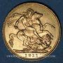 Coins Australie. Georges V (1910-1936). Souverain 1911 S. Sydney. (PTL 917‰. 7,99 g)