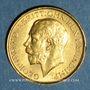 Coins Australie. Georges V (1910-1936). Souverain 1915P. Perth. (PTL 917/1000. 7,99 g)
