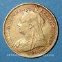 Coins Australie. Victoria (1837-1901). 1/2 souverain 1900 S. Sydney. (PTL 917/1000. 3,99 g)
