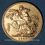 Coins Australie. Victoria (1837-1901). Souverain 1881 S. Sydney. (PTL 917‰. 7,99 g)