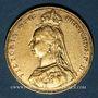 Coins Australie. Victoria (1837-1901). Souverain 1887 M. Melbourne. (PTL 917/1000. 7,99 g)