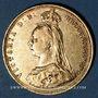 Coins Australie. Victoria (1837-1901). Souverain 1889 S. Sydney. (PTL 917‰. 7,99 g)