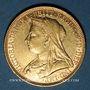Coins Australie. Victoria (1837-1901). Souverain 1893 M. Melbourne. (PTL 917/1000. 7,99 g)