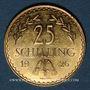 Coins Autriche.1ère République (1918-1938). 25 schilling 1926. (PTL 900‰. 5.88 g)