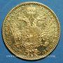 Coins Autriche. François Joseph (1848-1916).  1 ducat 1907. (PTL 986‰. 3,49 g)