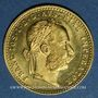 Coins Autriche. François Joseph (1848-1916). 1 ducat 1915. Refrappe. 986 /1000. 3,49 gr