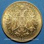 Coins Autriche. François Joseph (1848-1916). 20 couronnes 1897. (PTL 900‰. 6,78 g)