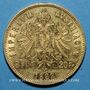 Coins Autriche. François Joseph (1848-1916). 8 florins / 20 francs 1892. (PTL 900‰. 6,45 g)