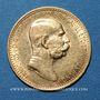 Coins Autriche. François Joseph I (1848-1916). 10 couronnes 1909. (PTL 900‰. 3,39 g)