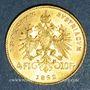 Coins Autriche. François Joseph I (1848-1916). 4 florins /10 franken 1892. Refrappe. 900 /1000. 3,22 gr