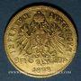 Coins Autriche. François Joseph I (1848-1916). 8 florins / 20 francs 1878. (PTL 900‰. 6,45 g)