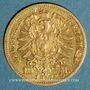 Coins Bade. Frédéric I, grand duc (1856-1907). 10 mark 1872G. (PTL 900‰. 3,98 g)