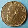 Coins Bade. Frédéric I, grand duc (1856-1907). 10 mark 1877G. (PTL 900/1000. 3,98 g)