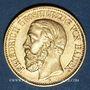 Coins Bade. Frédéric I, grand duc (1856-1907). 10 mark 1891G. (PTL 900/1000. 3,98 g)