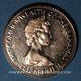 Coins Bahamas. Elisabeth II. 50 dollars 1973. Indépendance. (PTL 500‰. 15,64 g)