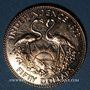 Coins Bahamas. Elisabeth II. 50 dollars 1973. Indépendance. (PTL 500/1000. 15,64 g)