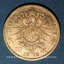 Coins Bavière. Louis II (1864-1886). 10 mark 1873 D.  (PTL 900‰. 3,98 g)