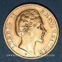 Coins Bavière. Louis II (1864-1886). 10 mark 1878 D.  (PTL 900‰. 3,98 g)