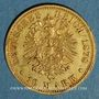 Coins Bavière. Louis II (1864-1886). 10 mark 1878D.  (PTL 900‰. 3,98 g)
