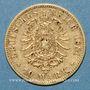 Coins Bavière. Louis II (1864-1886). 10 mark 1881 D.  (PTL 900‰. 3,98 g)