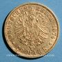 Coins Bavière. Louis II (1864-1886). 20 mark 1874D. (PTL 900/1000. 7,96 g)