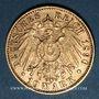 Coins Bavière. Otto (1886-1913). 10 mark 1890D. 900 /1000. 3,98 gr