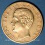 Coins Bavière. Otto (1886-1913). 10 mark 1893D. 900 /1000. 3,98 gr