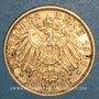 Coins Bavière. Otto (1886-1913). 10 mark 1907 D.  (PTL 900‰. 3,98 g)