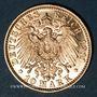 Coins Bavière. Otto (1886-1913). 10 mark 1911D. (PTL 900/1000. 3,98 g)